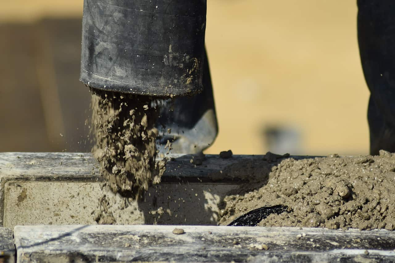 משפך בטון