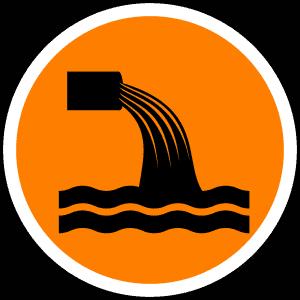 סמל של תעלת מים